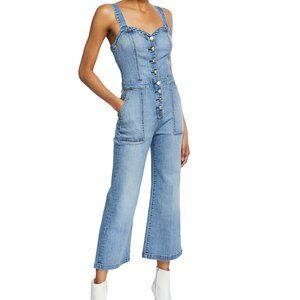 7 FOR ALL MANKIND CORSET TANK JUMPSUIT